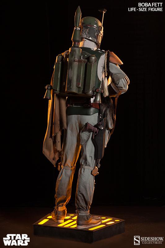 Star Wars - Sideshow - The Boba Fett Life-Size Figure Boba-f24