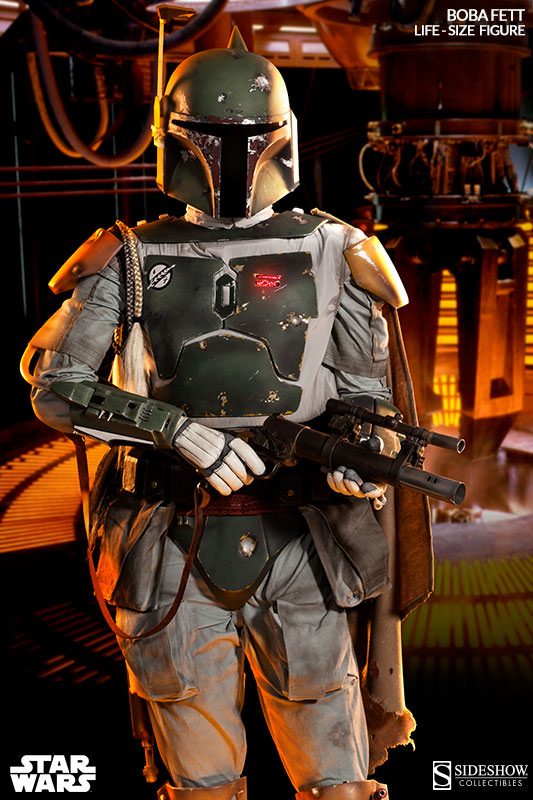 Star Wars - Sideshow - The Boba Fett Life-Size Figure Boba-f25