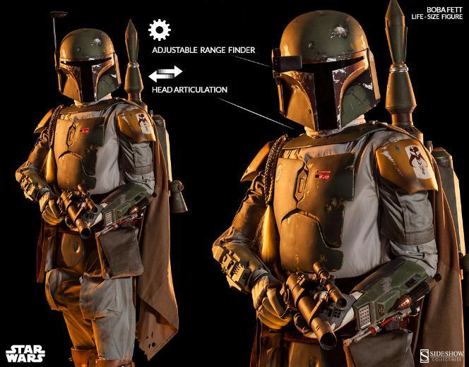 Star Wars - Sideshow - The Boba Fett Life-Size Figure Boba-f26