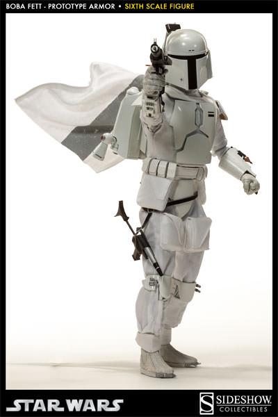 Sideshow - Boba Fett Prototype Armure Sixth Scale Figure Boba-f37