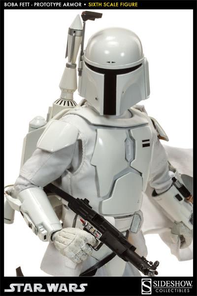 Sideshow - Boba Fett Prototype Armure Sixth Scale Figure Boba-f40
