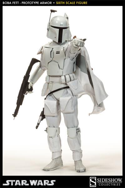Sideshow - Boba Fett Prototype Armure Sixth Scale Figure Boba-f42
