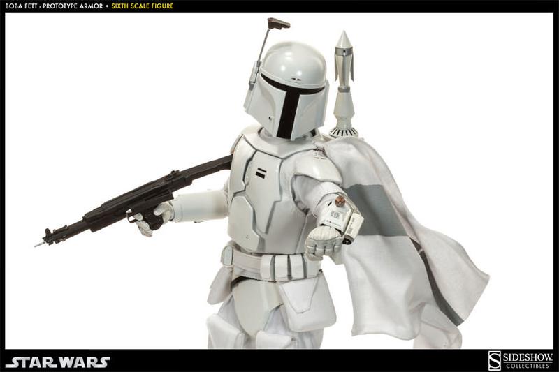 Sideshow - Boba Fett Prototype Armure Sixth Scale Figure Boba-f43