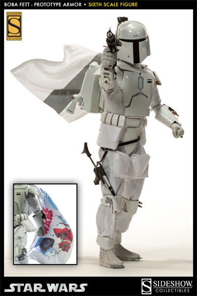Sideshow - Boba Fett Prototype Armure Sixth Scale Figure Boba-f44