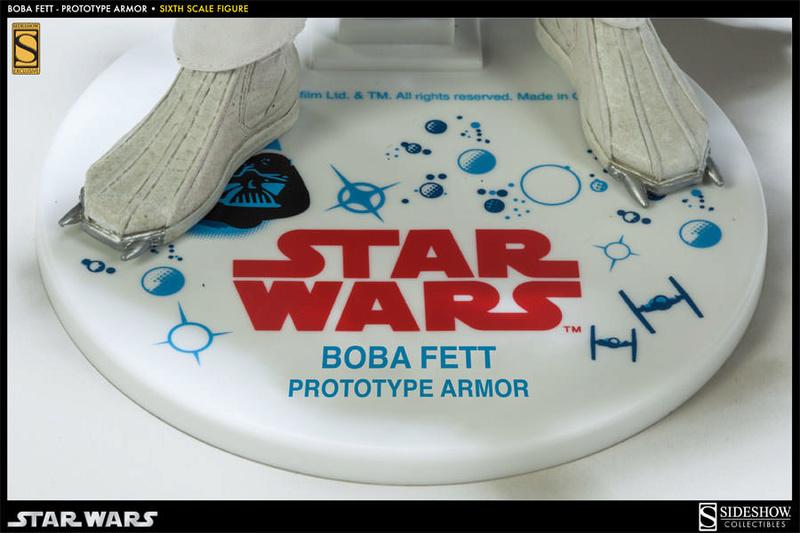 Sideshow - Boba Fett Prototype Armure Sixth Scale Figure Boba-f47