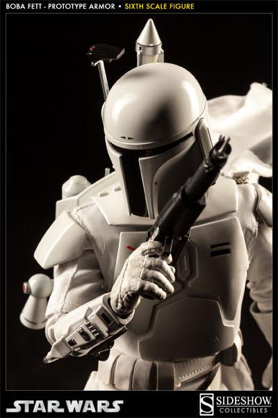 Sideshow - Boba Fett Prototype Armure Sixth Scale Figure Boba-f50