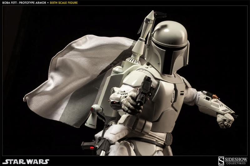 Sideshow - Boba Fett Prototype Armure Sixth Scale Figure Boba-f53