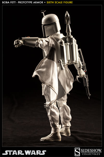 Sideshow - Boba Fett Prototype Armure Sixth Scale Figure Boba-f54