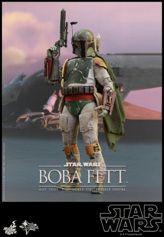 Hot Toys Star Wars Boba Fett 1/6 Scale Figure Boba_011