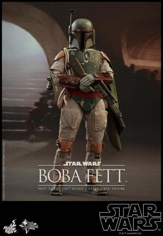 Hot Toys Star Wars Boba Fett 1/6 Scale Figure Boba_012