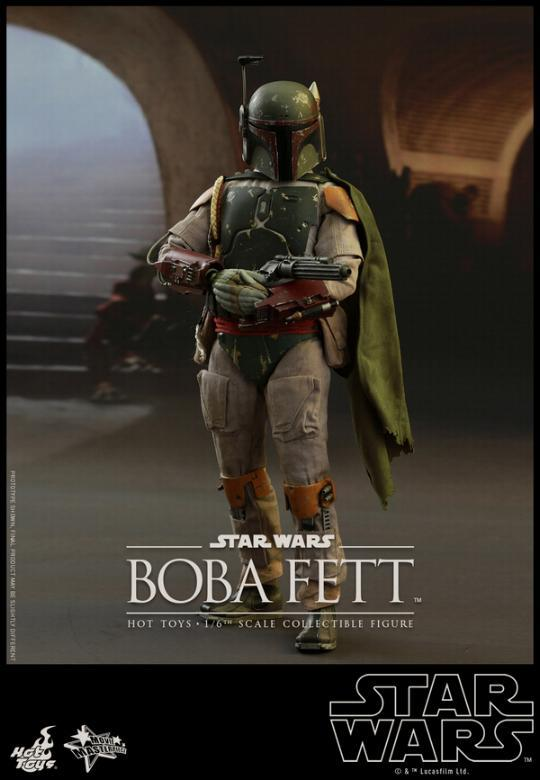Hot Toys Star Wars Boba Fett 1/6 Scale Figure Boba_013