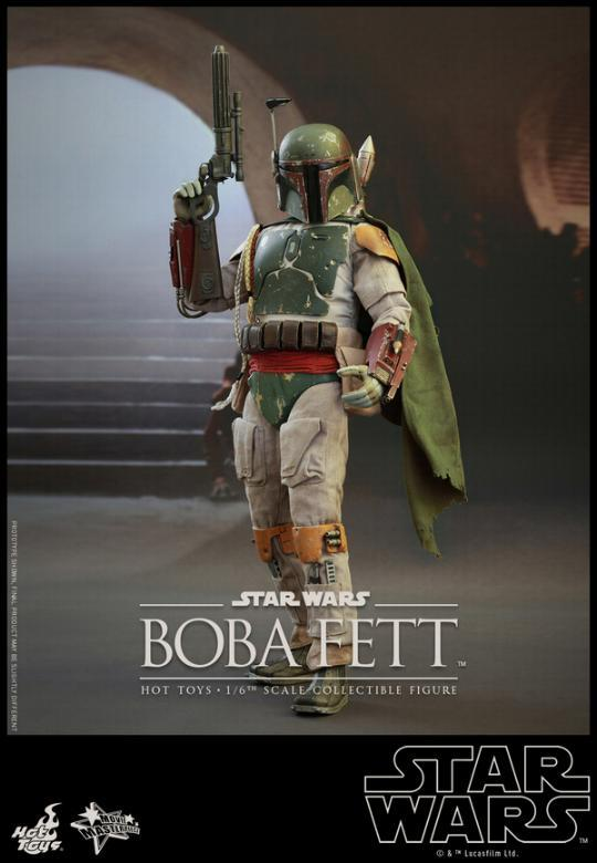 Hot Toys Star Wars Boba Fett 1/6 Scale Figure Boba_014