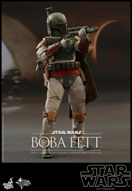 Hot Toys Star Wars Boba Fett 1/6 Scale Figure Boba_015