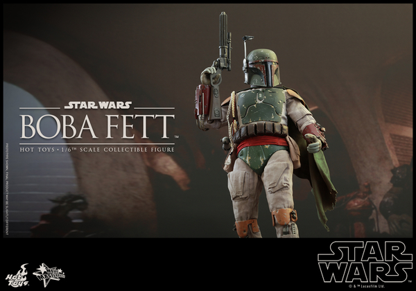 Hot Toys Star Wars Boba Fett 1/6 Scale Figure Boba_016