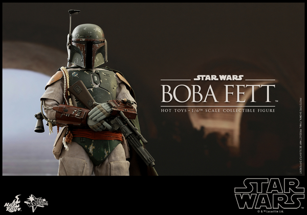 Hot Toys Star Wars Boba Fett 1/6 Scale Figure Boba_018