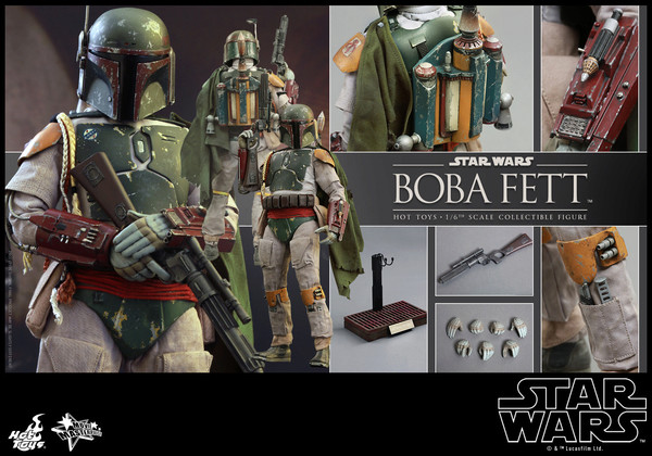 Hot Toys Star Wars Boba Fett 1/6 Scale Figure Boba_019