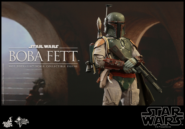 Hot Toys Star Wars Boba Fett 1/6 Scale Figure Boba_110