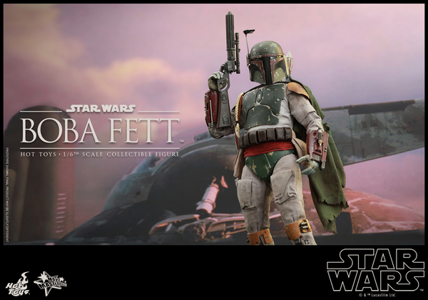 Hot Toys Star Wars Boba Fett 1/6 Scale Figure Boba_111