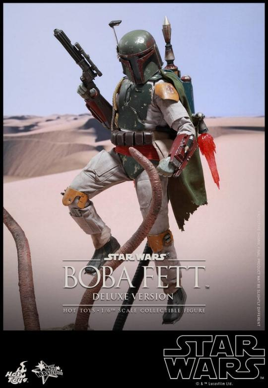 Hot Toys Star Wars Boba Fett 1/6 Scale Figure Boba_114