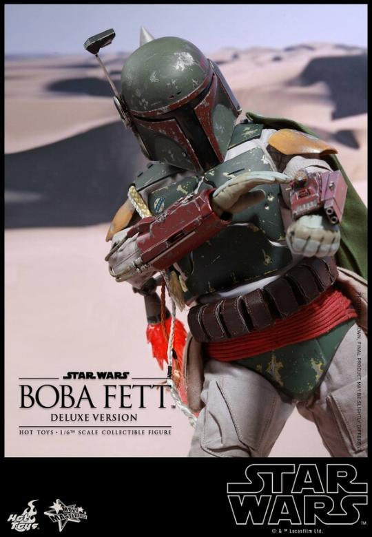 Hot Toys Star Wars Boba Fett 1/6 Scale Figure Boba_116
