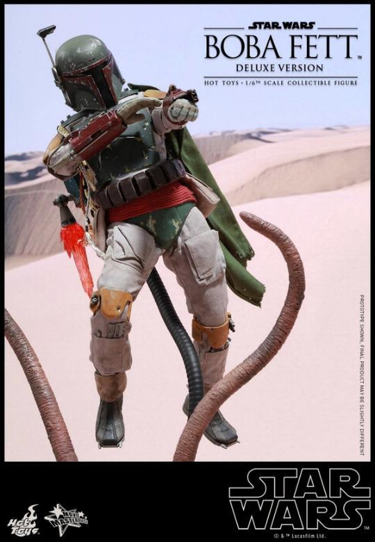 Hot Toys Star Wars Boba Fett 1/6 Scale Figure Boba_117