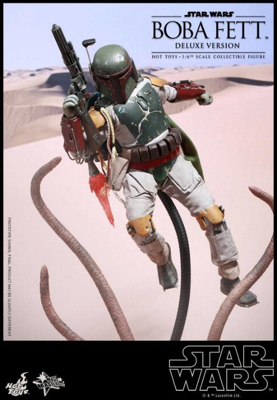 Hot Toys Star Wars Boba Fett 1/6 Scale Figure Boba_118