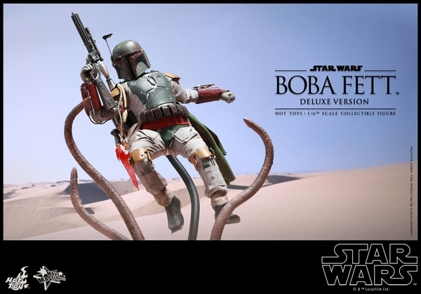 Hot Toys Star Wars Boba Fett 1/6 Scale Figure Boba_119