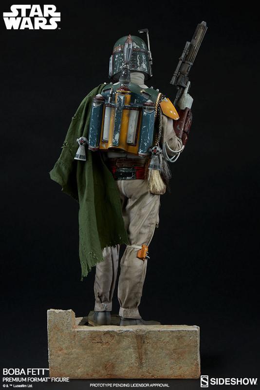 Sideshow Collectibles Boba Fett Premium Format Figure (2017) Bobafe19