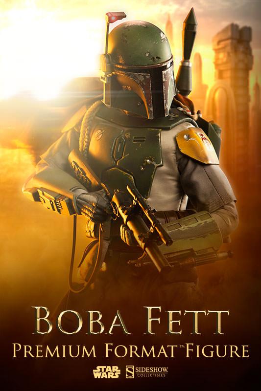 Sideshow - Boba Fett Premium Format Figure Bobafe33