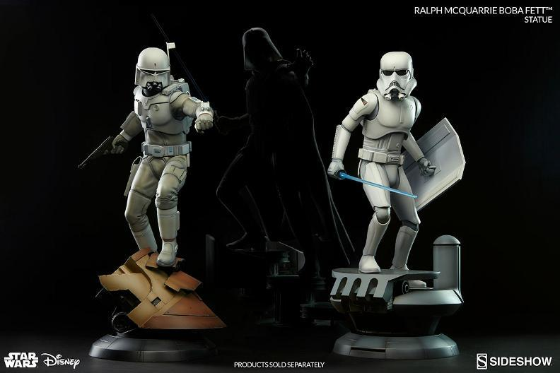 Sideshow Collectibles - Ralph McQuarrie Darth Vader Statue Bobamc10