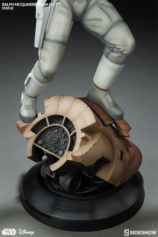 Sideshow Boba Fett Statue Ralph McQuarrie Artist Series  Bobamc23