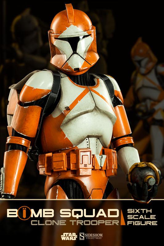 Sideshow - Bomb Squad Clone Trooper Sixth Scale Figure Bomb-s10