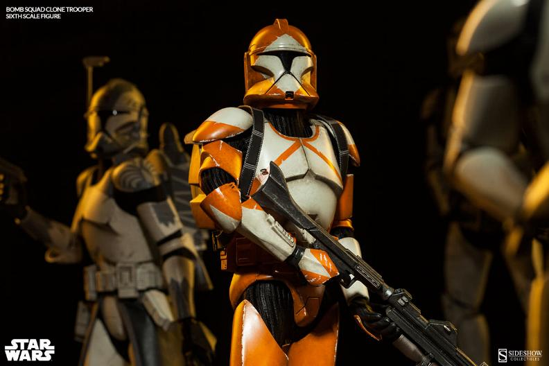 Sideshow - Bomb Squad Clone Trooper Sixth Scale Figure Bomb-s12