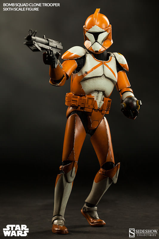 Sideshow - Bomb Squad Clone Trooper Sixth Scale Figure Bomb-s13