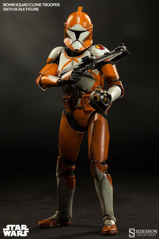 Sideshow - Bomb Squad Clone Trooper Sixth Scale Figure Bomb-s15