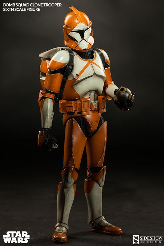 Sideshow - Bomb Squad Clone Trooper Sixth Scale Figure Bomb-s17