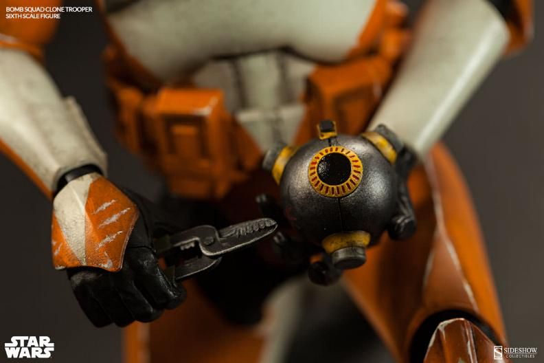 Sideshow - Bomb Squad Clone Trooper Sixth Scale Figure Bomb-s19