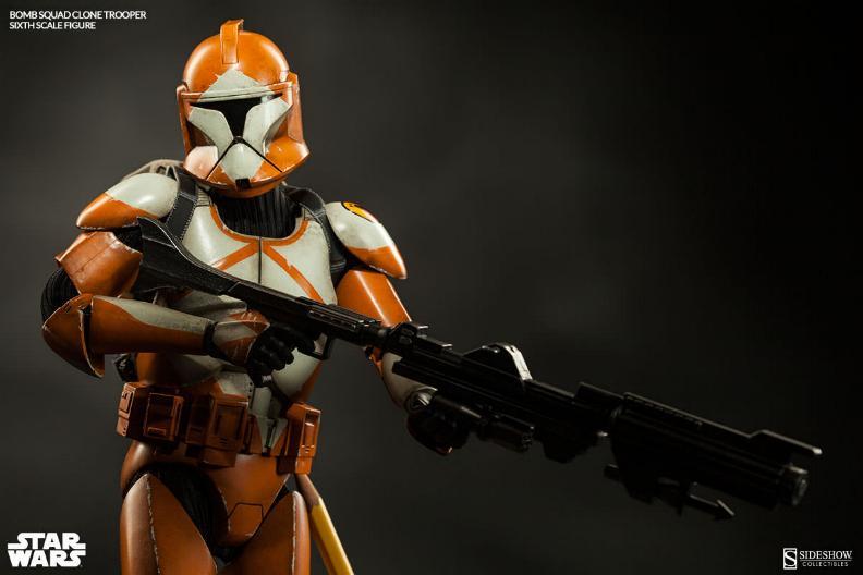 Sideshow - Bomb Squad Clone Trooper Sixth Scale Figure Bomb-s20