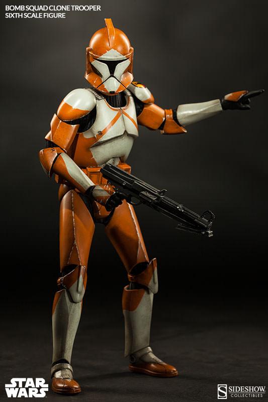 Sideshow - Bomb Squad Clone Trooper Sixth Scale Figure Bomb-s22
