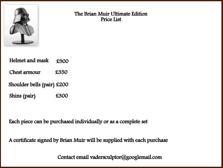 Darth Vader - The Ultimate Brian Muir Edition Brianv18