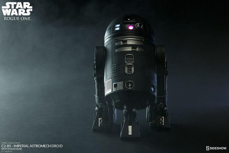 Sideshow - C2-B5 Imperial Astromech Droid Sixth Scale C2-b5_10
