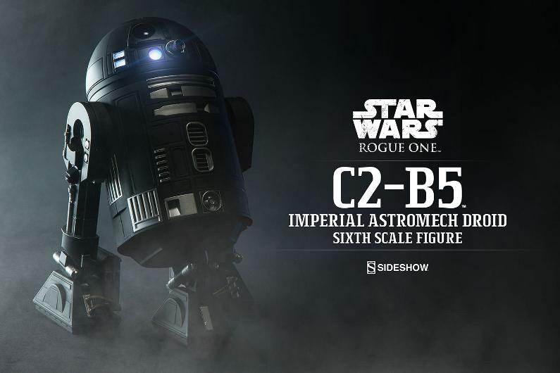 Sideshow - C2-B5 Imperial Astromech Droid Sixth Scale C2-b5_11