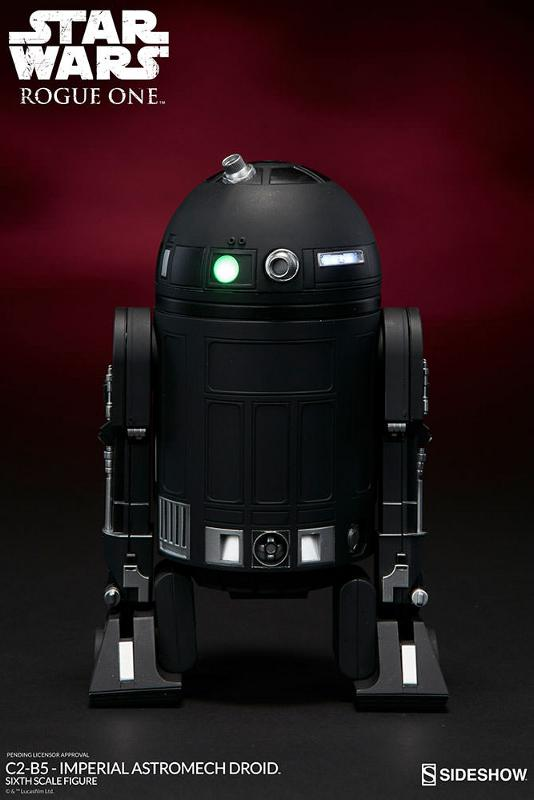 Sideshow - C2-B5 Imperial Astromech Droid Sixth Scale C2-b5_12