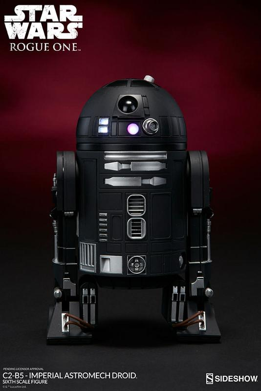 Sideshow - C2-B5 Imperial Astromech Droid Sixth Scale C2-b5_14