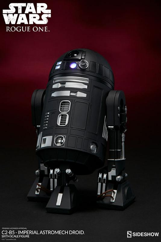 Sideshow - C2-B5 Imperial Astromech Droid Sixth Scale C2-b5_15