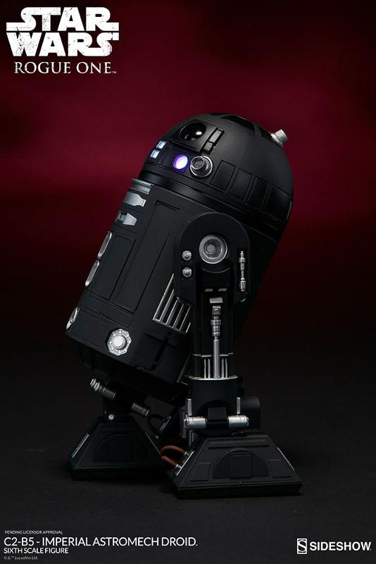 Sideshow - C2-B5 Imperial Astromech Droid Sixth Scale C2-b5_16