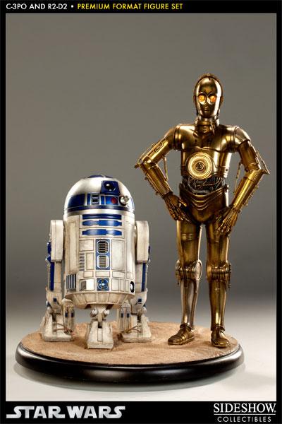 Sideshow - C3PO & R2D2 - PF - Premium Format 2011 - Page 2 C3po-r12