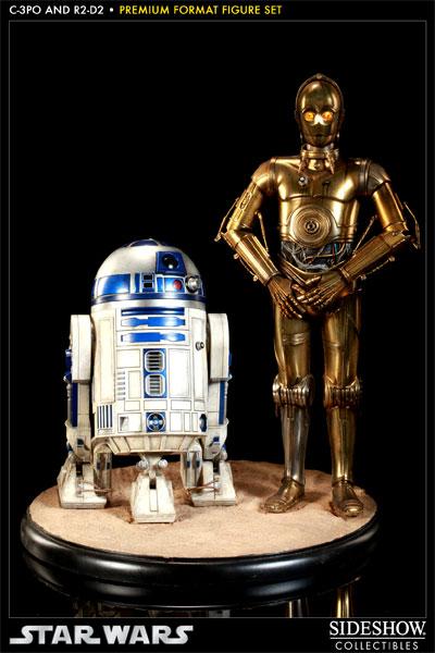 Sideshow - C3PO & R2D2 - PF - Premium Format 2011 - Page 2 C3po-r22