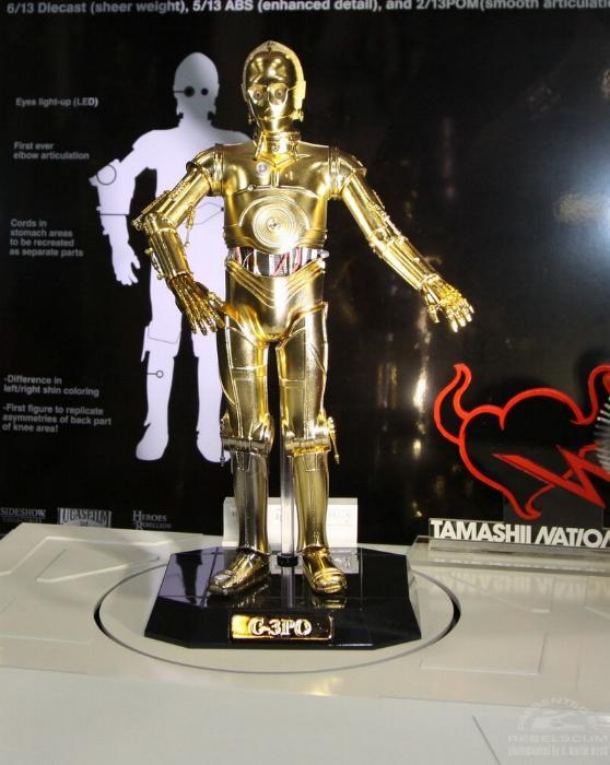 Thamashii Nation C3PO - 12' Perfect Model Chogokin C3po0110