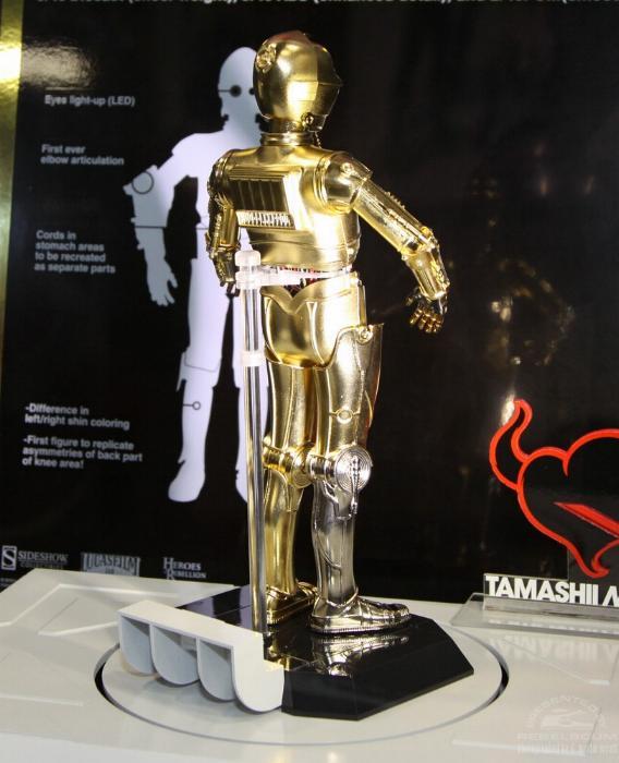 Thamashii Nation C3PO - 12' Perfect Model Chogokin C3po0310